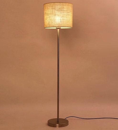 Buy cream iron floor lamp by lavish online contemporary floor cream iron floor lamp by lavish aloadofball Choice Image