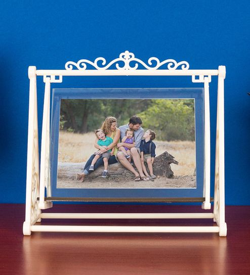 8d5d9f5b8ebc Buy Cream Paper & Cardboard Swing Table Top Photo Frame by Golden Peacock  Online - Single Photo Frames - Single Photo Frames - Wall Art - Pepperfry  Product