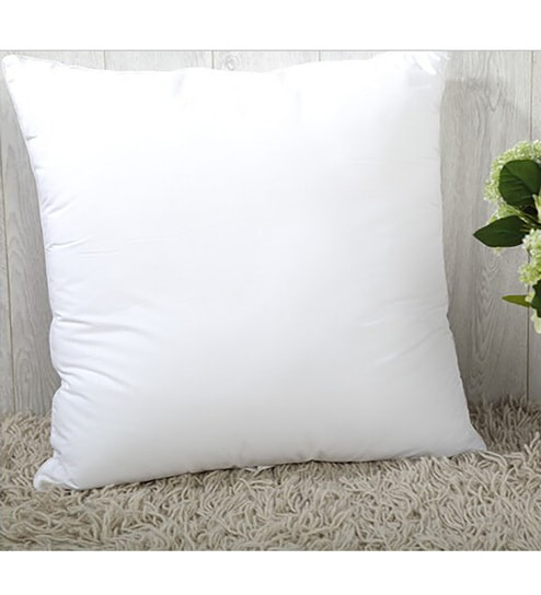 16 By 16 Pillow.Non Woven 16 X 16 Inch Cushion Insert With 300 Grams Filling By Creative Homez