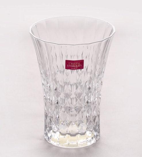Cristal Darques Lady Diamond.Cristal D Arques Lady Diamond Glass 360 Ml Tumbler Set Of 6