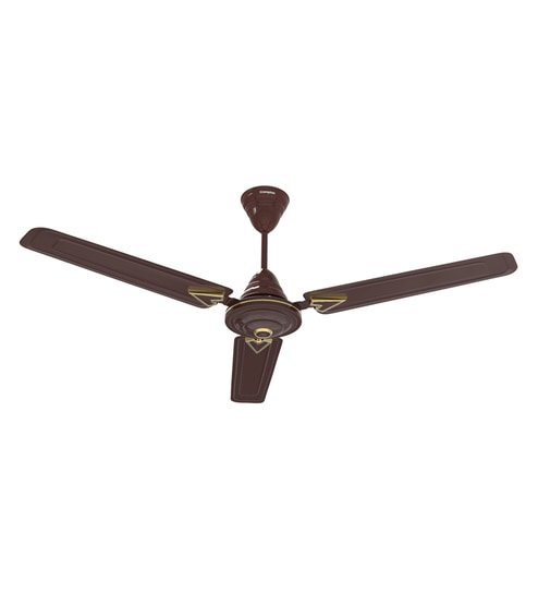 Crompton Greaves Briz Air Deco Hi Speed 1200 Mm Brown Ceiling Fan