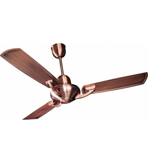 Buy crompton greaves triton electroplated 1200 mm antique copper crompton greaves triton electroplated 1200 mm antique copper ceiling fan aloadofball Image collections