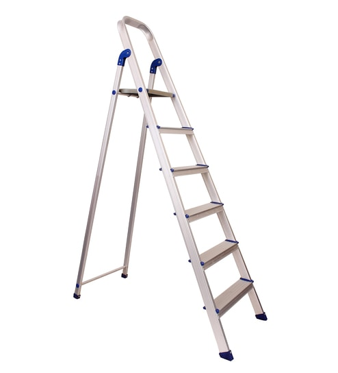 Buy Crust Aluminium 6 Steps 5 8 Ft Ladder Online Step
