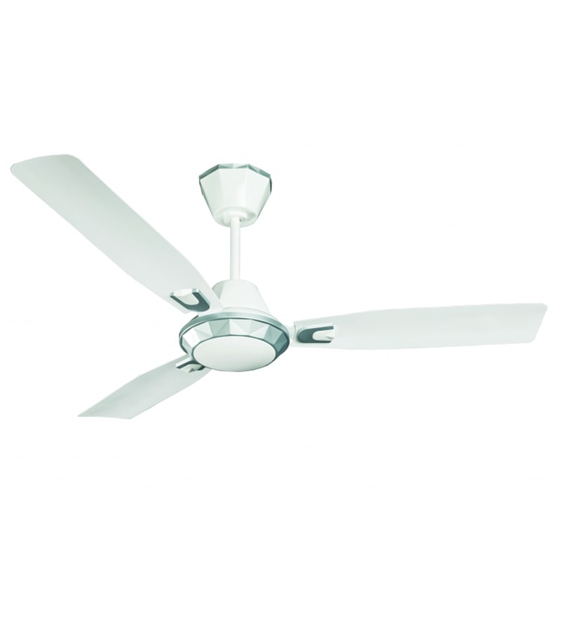 Buy crompton diamond 1200 mm silver white ceiling fan online click to zoom inout aloadofball Choice Image