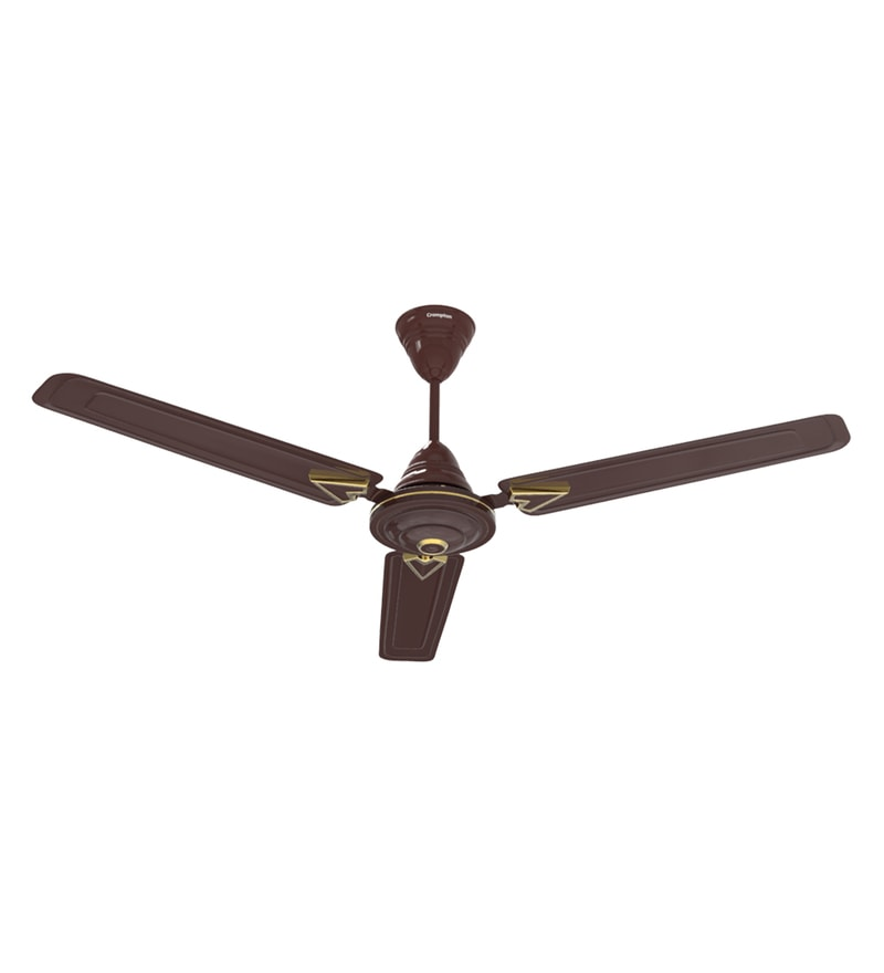 Buy Crompton Greaves Briz Air Deco Hi Speed 1200 mm Brown Ceiling ...