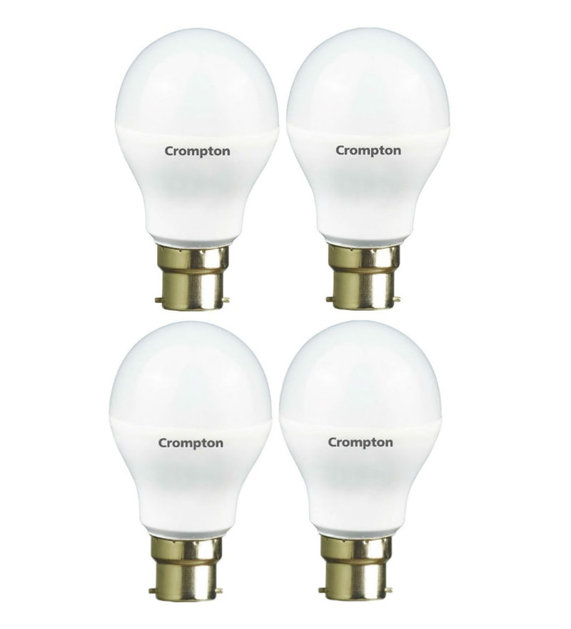 Crompton White 7-Watt LED Lamp - Set of 4