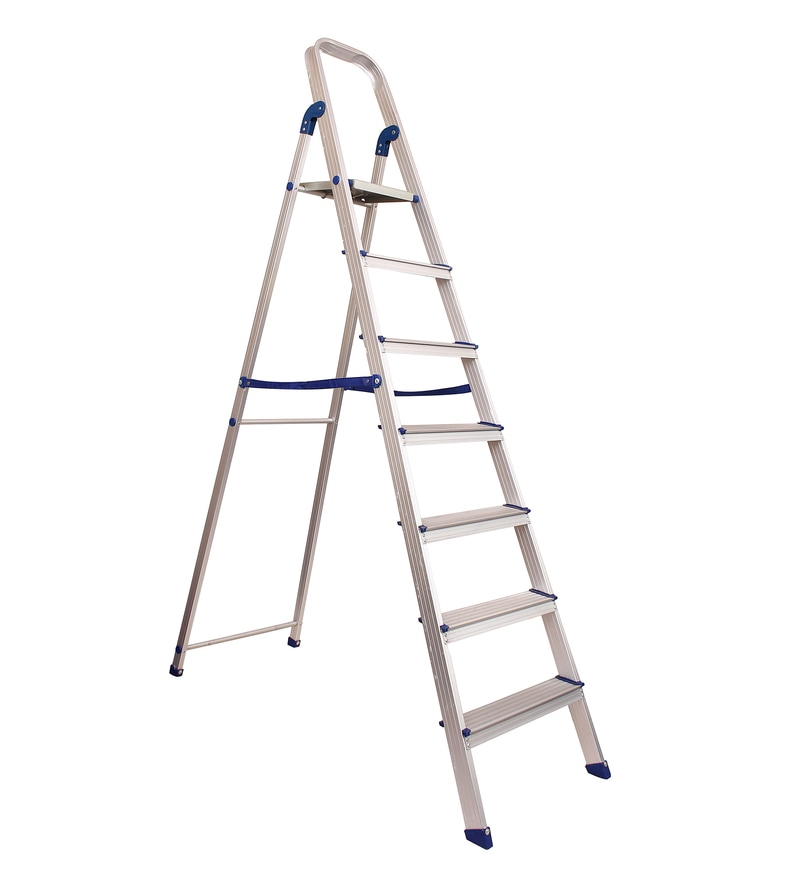 Crust Aluminium 7 Steps 6.6 FT Ladder