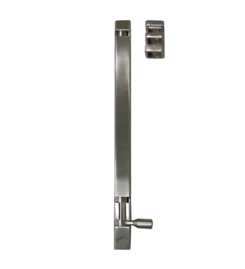 Crust Stainless Steel 12 Inch Tower Bolts - Set of 2