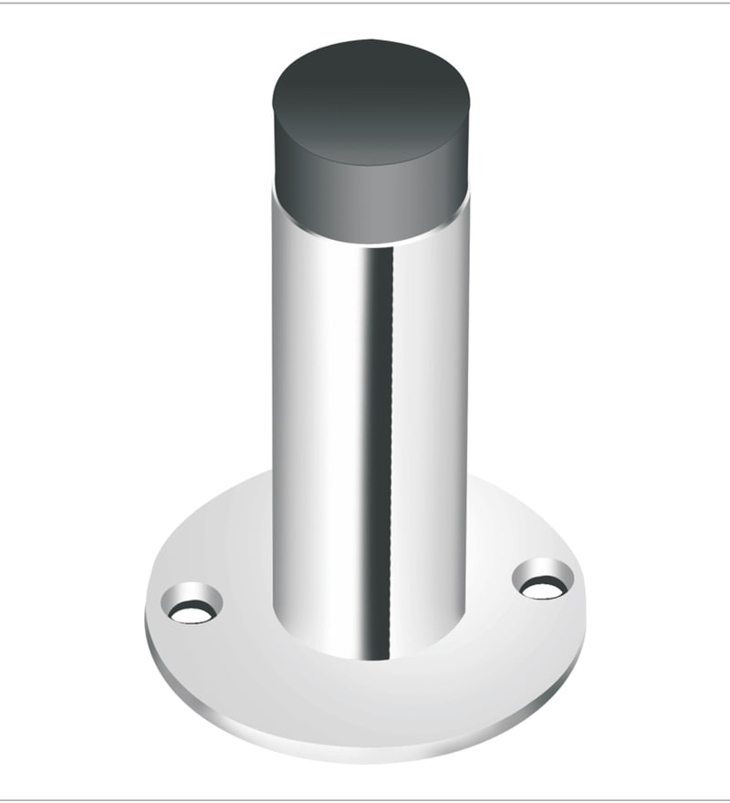 Crust Stainless Steel 3 Inch Door Silencer - Set of 2