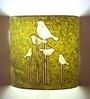 Craftter Bird Silhouette Yellow Wall Lamp
