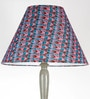 Blue Fabric Floor Lamp by Craftter