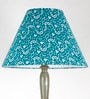 Green Fabric Floor Lamp by Craftter