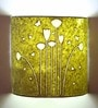 Craftter Pretty Flowers Yellow Wall Lamp
