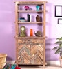 Rihanna Book Shelf in Distress Finish by Bohemiana