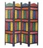 Multicolour Mango Wood Rajputana Jodhpuri Divider by CS Exports