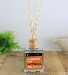 Cube Sandalwood Reed Diffuser