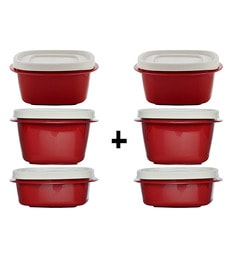 Cutting Edge Snap Tight Microwave Safe Air Tight Containers - Set Of 6