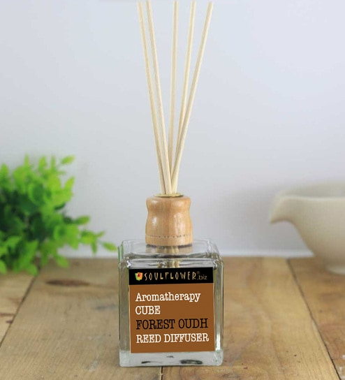 Cube Forest Oudh Reed Diffuser