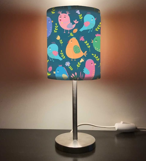 Cute Birds Designer Table Lamp In Multicolour By Nutcase