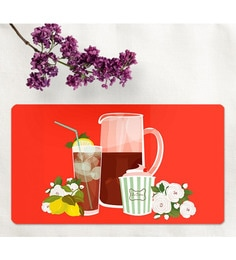 Cyahi Spring Break Multicolour Laminated MDF Placemats - Set Of 6