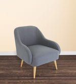 Dairlia Accent Chair in Grey Colour