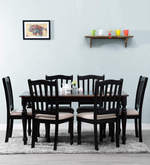 Dallyn Six Seater Dining Set in Dual Tone Finish