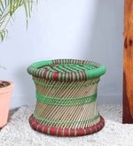Damroo Small Stool in Multicolour