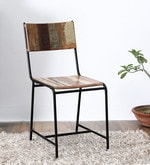 Dave Dining Chair in Distress Finish
