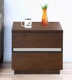 David Night Stand in Dark Walnut Finish