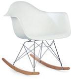 Daytona Beach Club Rocking Chair in Winter White Colour