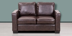 Daisy Two Seater Sofa in Brown Colour
