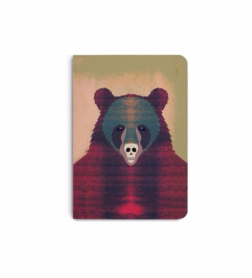 buy dailyobjects multicolour paper bjorn free bear plain a6 notebook