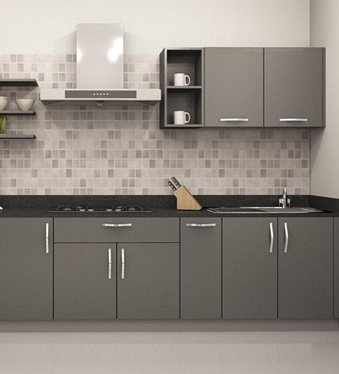 Straight Modular Kitchen Buy Straight Kitchen Design Online In