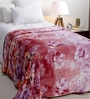 Daffodils Pink Poly cotton Single Size Blanket