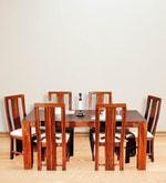 Della Six Seater Dining Set