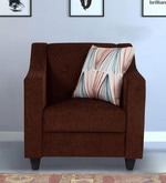 Derby One Seater Sofa in Brown Colour