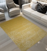Lemon Wool 90 x 60 Inch Hand Tufted Area Rug