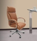 Detroit Executive Chair in Tan Leatherette