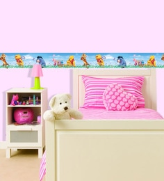 Decofun Vinyl Wall Pooh & Friends Border Wall Sticker