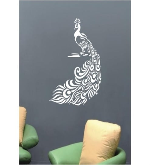 Decal Style Peacock Wall Sticker