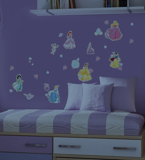 Vinyl Walls Princess Wall Stickers Wall Stickers By Decofun