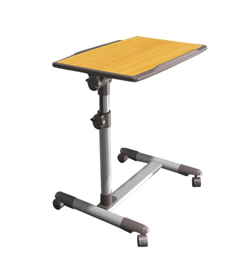 Cheap Adjustable Height Coffee Table: Buy Mobility Laptop Table With Wheels & Tiltable Top By
