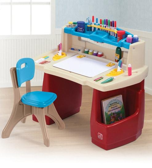 Buy Deluxe Art Master Desk By Step 2 Online Drawing Desks Kids