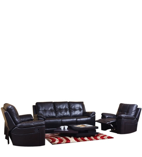 Denver Recliner Sofa Set 3 2 1 Seater By Evok