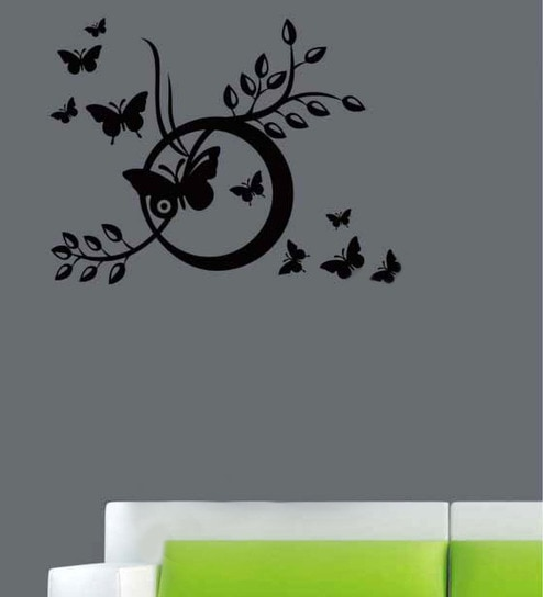 buy design district vinyl butterflies wall decal online - animals