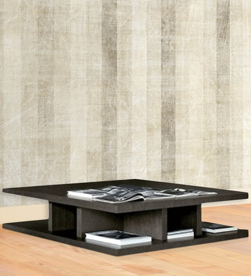 Designer Coffee Table In Wenge Finish By Exclusive Furniture