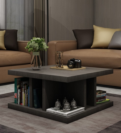 Buy Designer Coffee Table In Wenge Finish By Exclusive Furniture