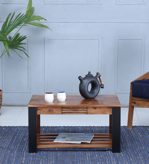 Deux Coffee Table in Dual Tone Finish by Woodsworth