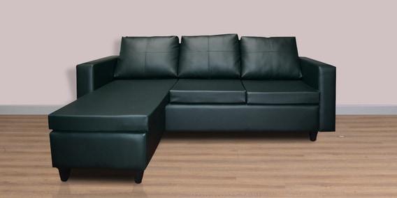 Devise Modular RHS Lounger Sofa In Bottle Green Colour By Elegant Furniture