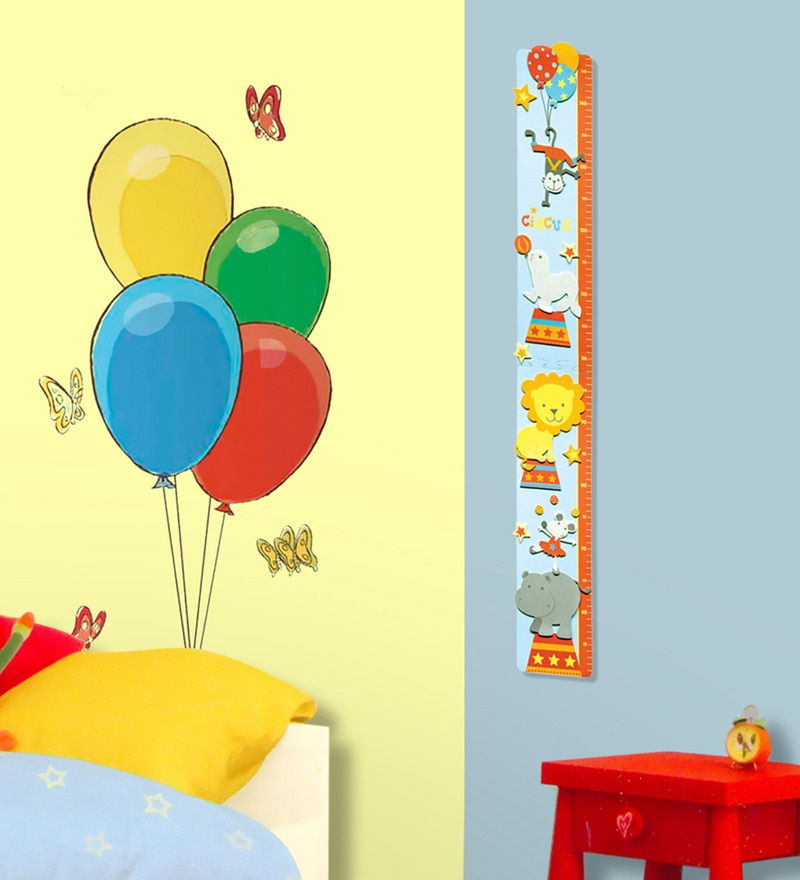 Foam Circus Foam Growth Chart by Decofun